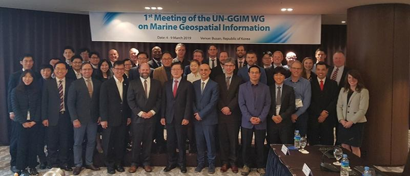 First expert meeting of the Working Group on Marine Geospatial Information