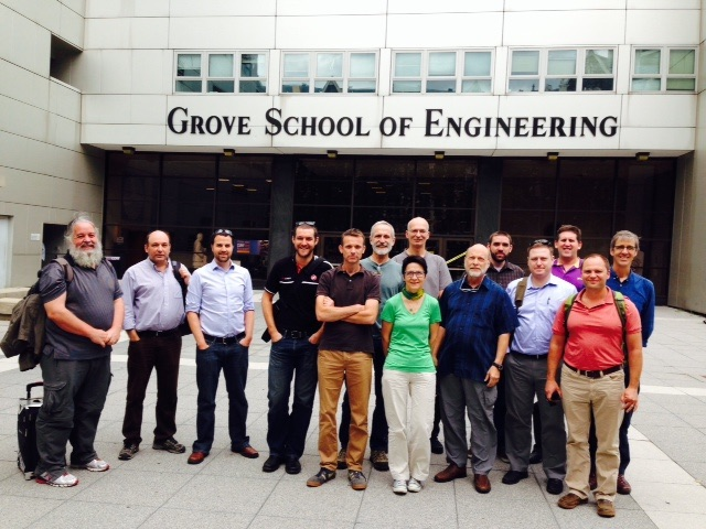Attendees of the 5th OGC/WMO Hydrology DWG Workshop – City College of New York, USA