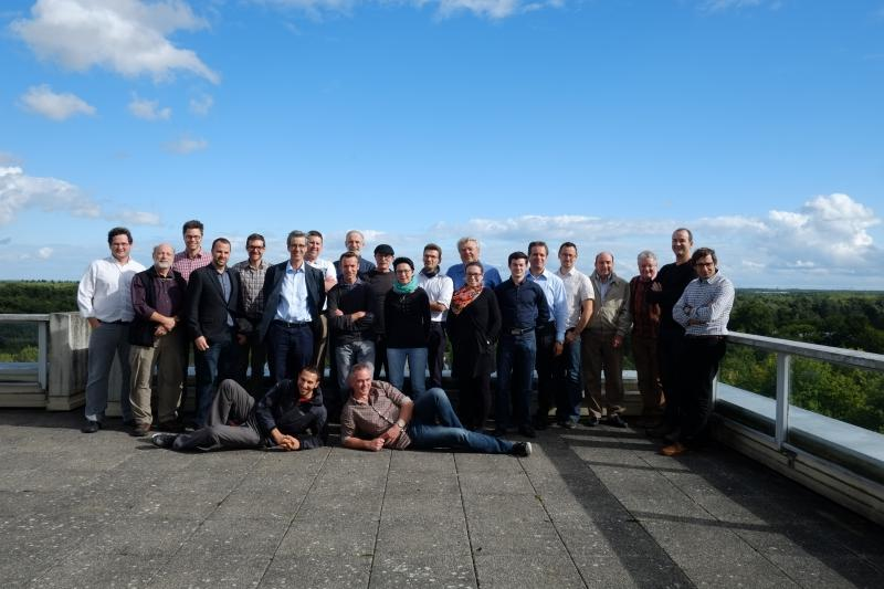 Attendees of the 6th OGC/WMO Hydrology DWG Workshop – BRGM, Orléans, France