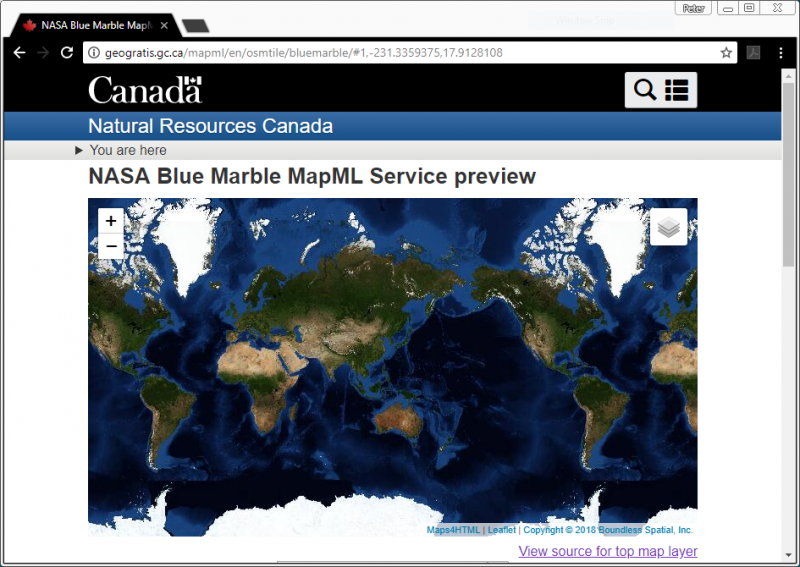 Map Markup Language and the GeoWeb in the OGC Innovation Program | OGC