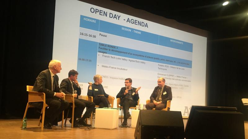 A panel session from Wednesday's open day.