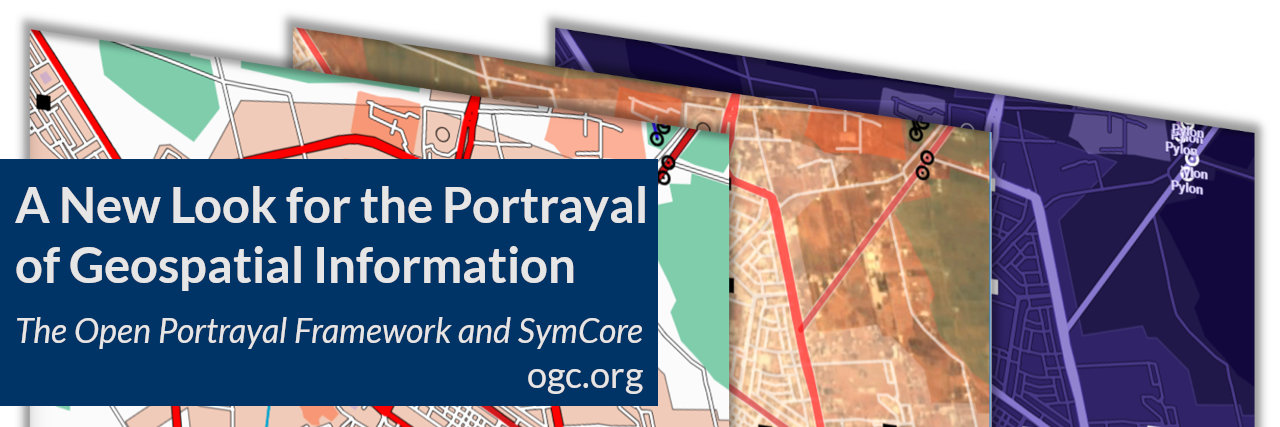 Banner for blog post on the open portrayal framework and symcore standard