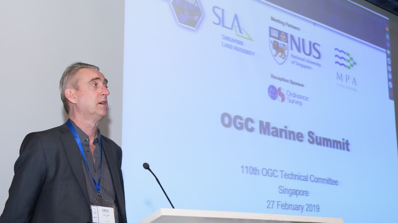 Trevor Taylor opens OGC's First Marine Summit