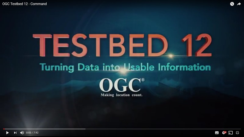 OGC Testbed 12 Video