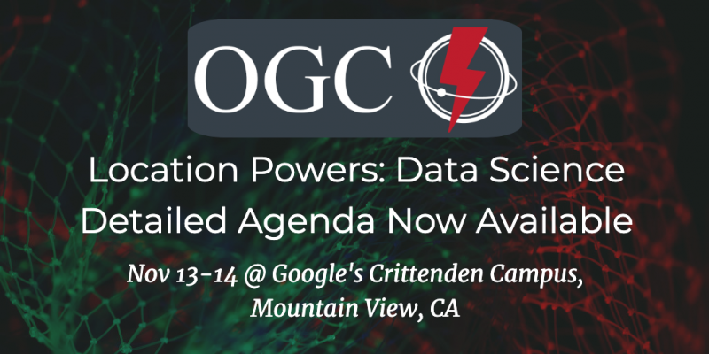 Location Powers: Data Science. Agenda published. 90% Discount ends Oct 15.