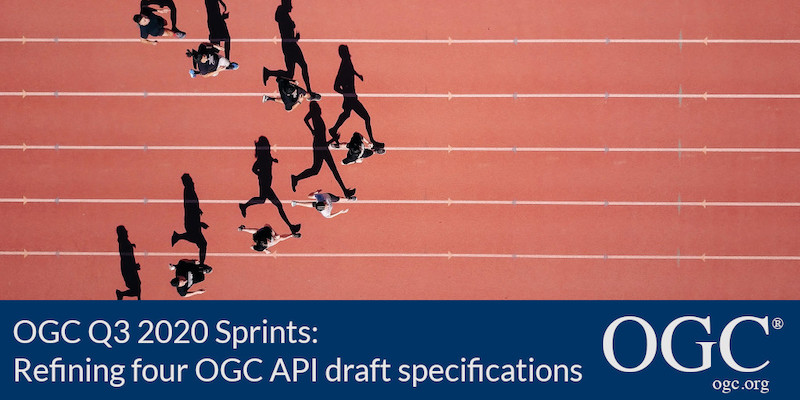 Banner for Q3 2020 OGC API Sprints