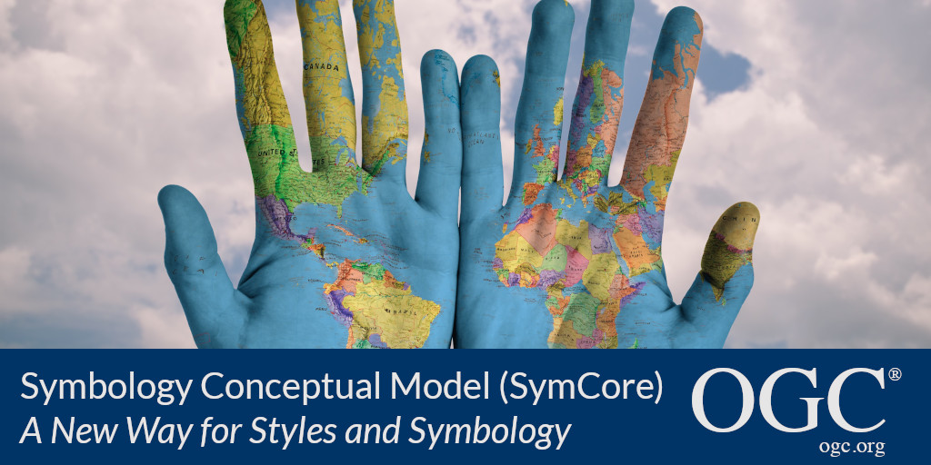Banner announcing approval of SymCore standard: a new way for styles and symbology